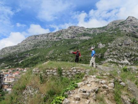 Our personal guide at the ruins of the Kruja fortress